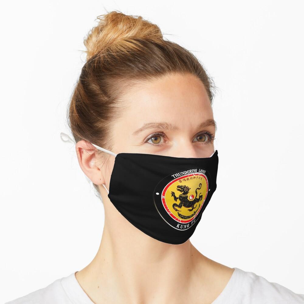 Thundering Lions Kung Fu School Shirt Mask