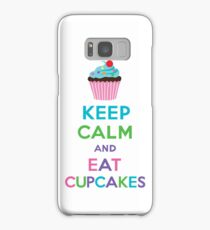 Keep Calm and Eat Cupcakes 2   3G  4G  4s iPhone case  Samsung Galaxy Case/Skin