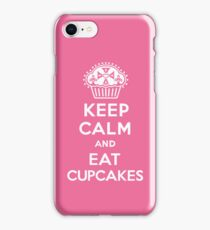Keep Calm and Eat Cupcakes  pink 3G  4G  4s iPhone case  iPhone Case/Skin