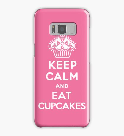 Keep Calm and Eat Cupcakes  pink 3G  4G  4s iPhone case  Samsung Galaxy Case/Skin