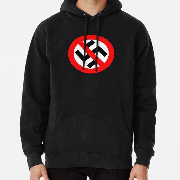 Antifaschistische Aktion Gegen Rechts Anti Nazi Logo Unisex Hoodie