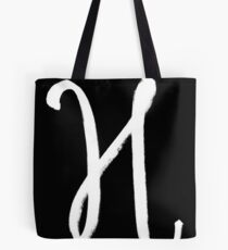 The Letter H Tote Bag