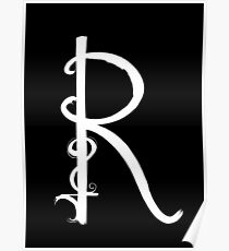 The Letter R Poster