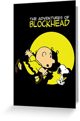 The Adventures of Blockhead by SprayPaint