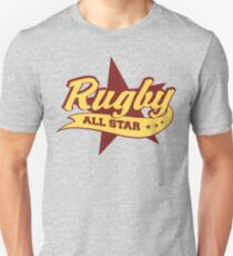 Retro Rugby Unisex T-Shirt