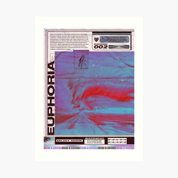 EUFORIA / Diseño de carteles Lámina artística