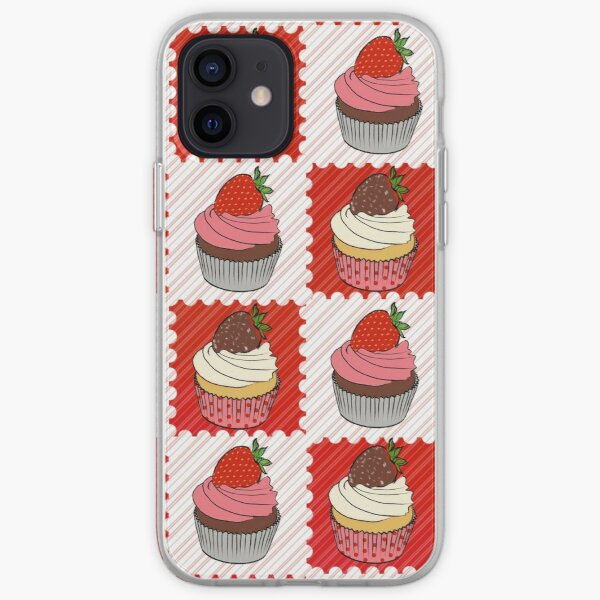 Strawberry Cupcakes iPhone Soft Case