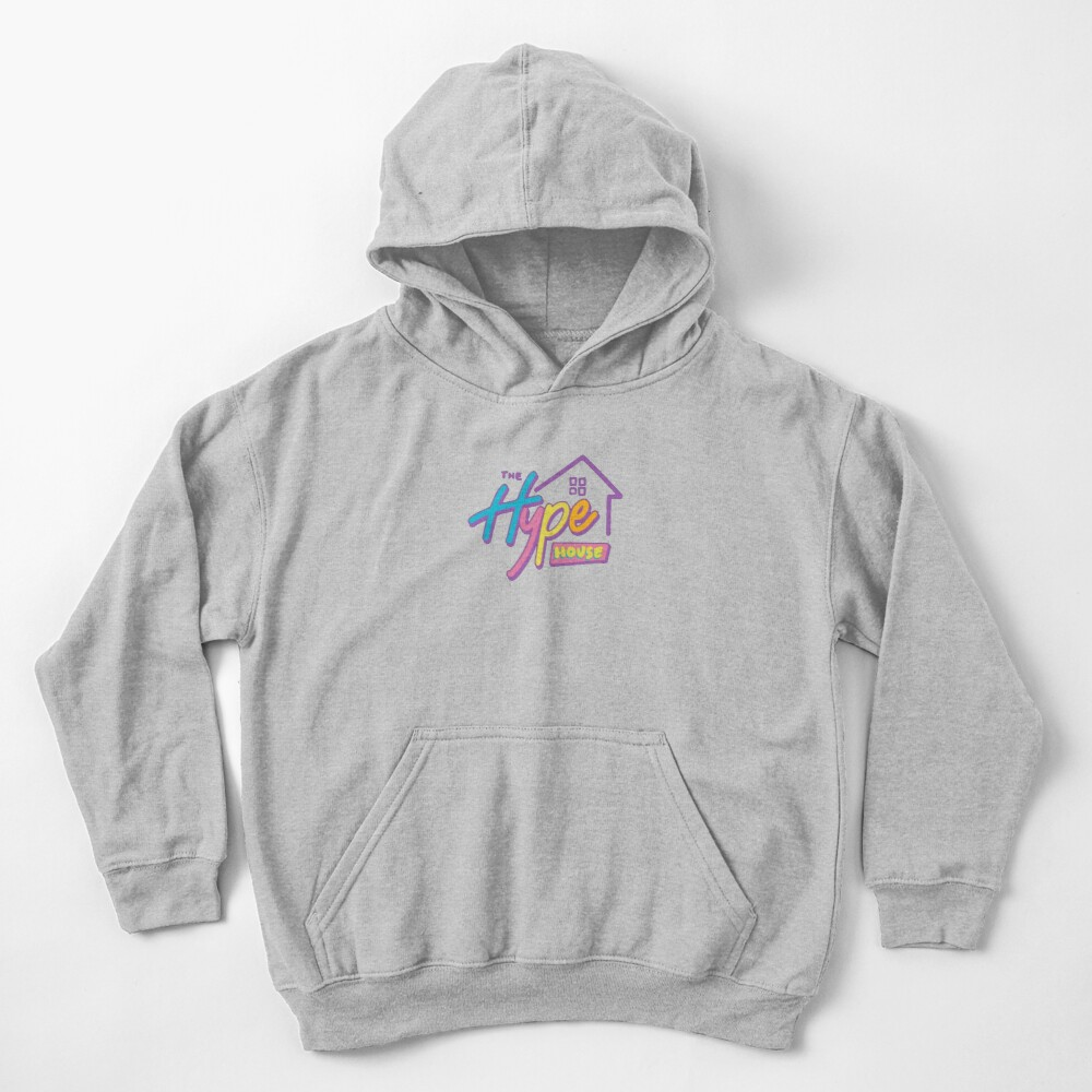 The Hype House Logo Kids Pullover Hoodie