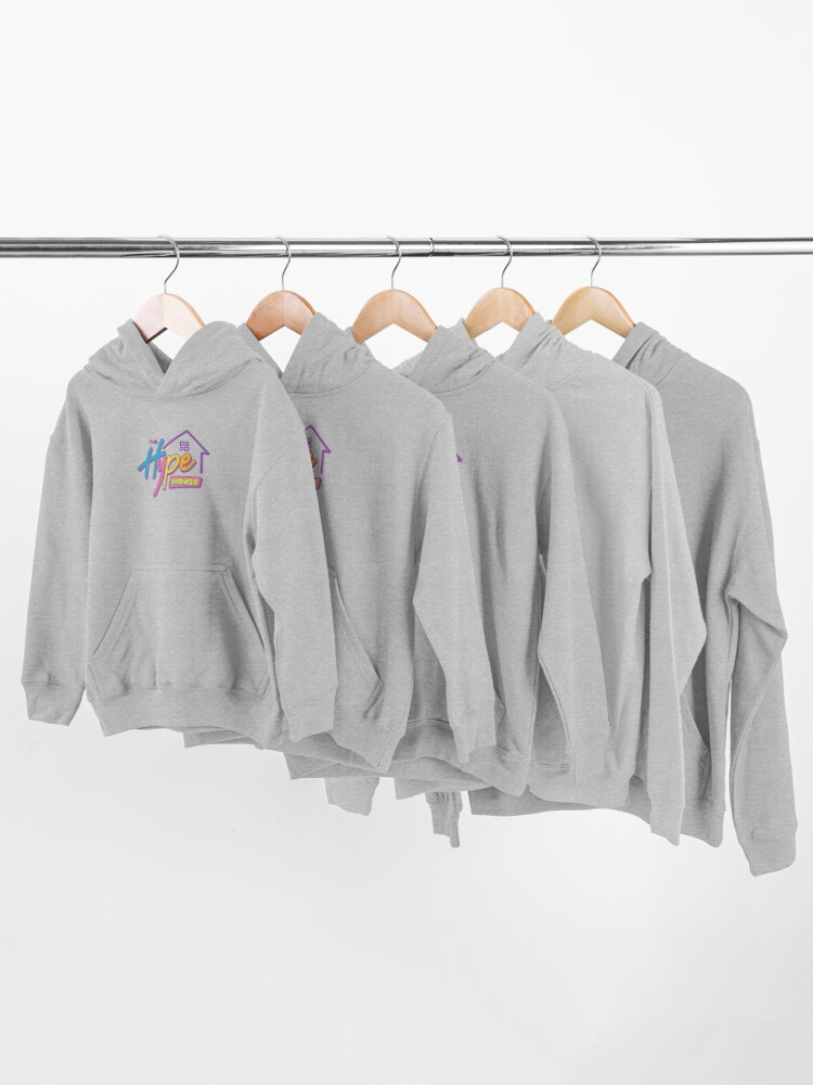 Alternate view of The Hype House Logo Kids Pullover Hoodie