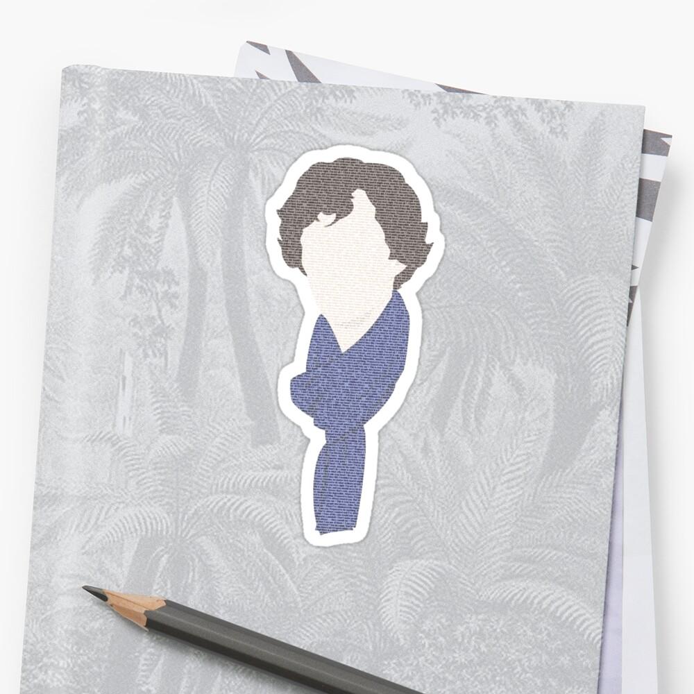 Sherlock in a few words by carmencaboodles