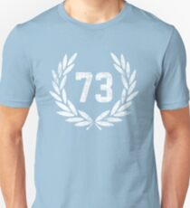 73 (aged look) Unisex T-Shirt