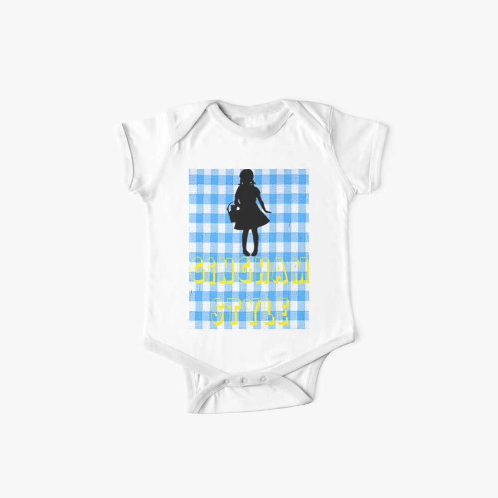 Wizard Of Oz Dorothy Gingham Style Baby Bodys