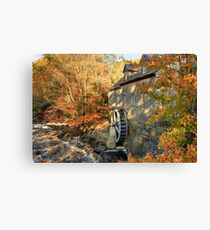 Sable River Mill in Autumn 2 Canvas Print