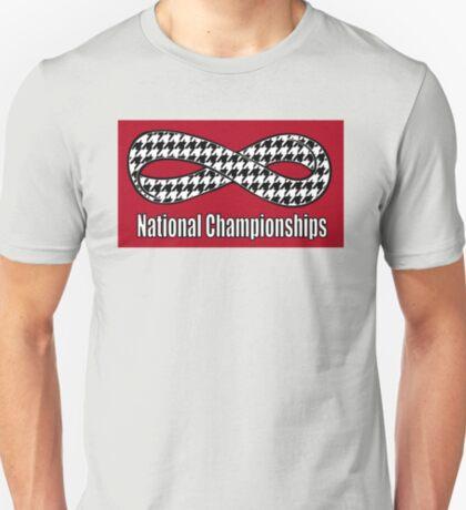 Alabama Infinity National Championships Crimson back T-Shirt