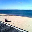 zen (beach)  by Michael A. Morrison