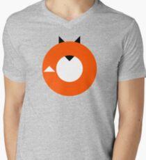 A Most Minimalist Fox Men's V-Neck T-Shirt