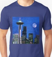Blue Seattle Space Needle T-Shirt