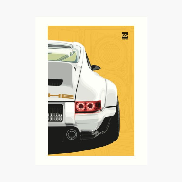 interprétation vibrante de l'une des voitures de sport les plus appréciées de l'histoire Impression artistique