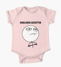 Challenge Accepted (HD) One Piece - Short Sleeve
