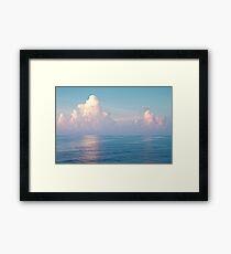 Sky and Ocean Framed Print