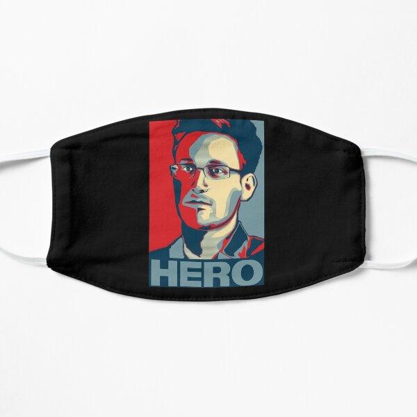 Edward Snowden Hero Art Flat Mask