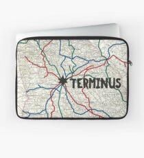 The Walking Dead - Terminus Map Laptop Sleeve