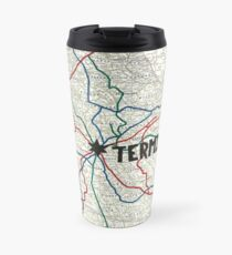 The Walking Dead - Terminus Map Travel Mug