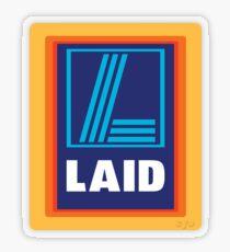 LAID Transparent Sticker
