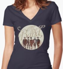 THE BAND Women's Fitted V-Neck T-Shirt