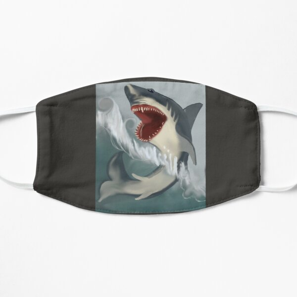 Shark Flat Mask
