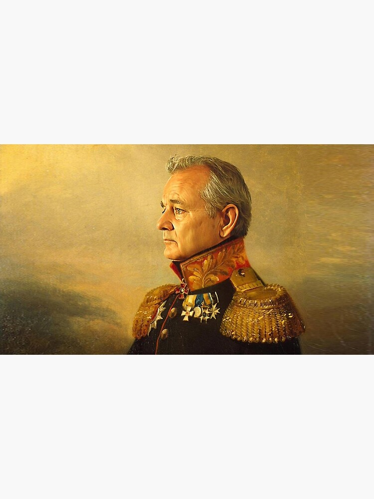 General Bill Murray classic painting  by MindChirp