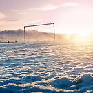 Frozen Football Pitch by Paul-M-W