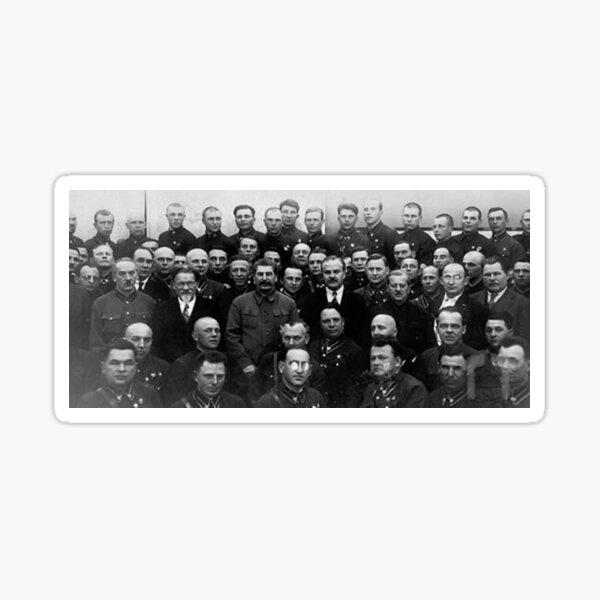 Stalin and the NKVD - Сталин и НКВД Sticker