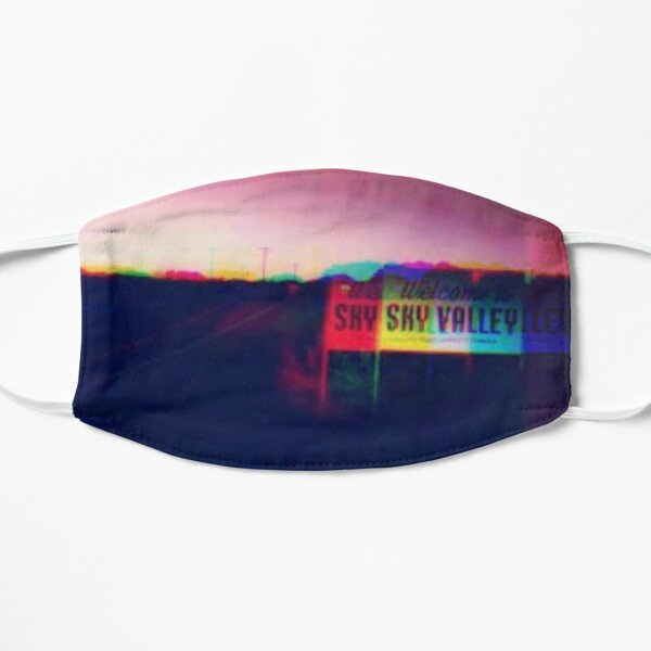 Kyuss Welcome to Sky Valley- Trippy Glitched Design Mask