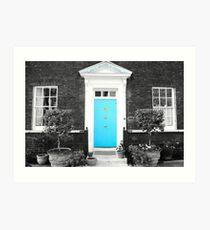 Blue Door, Tower of London Art Print