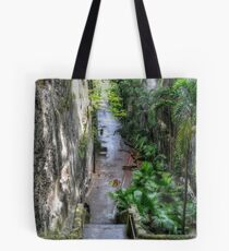 Historical Places of Nassau, The Bahamas: The Queen's Staircase Tote Bag
