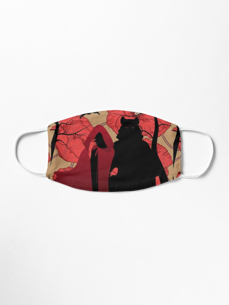 Alternate view of Little Red Riding Hood Mask