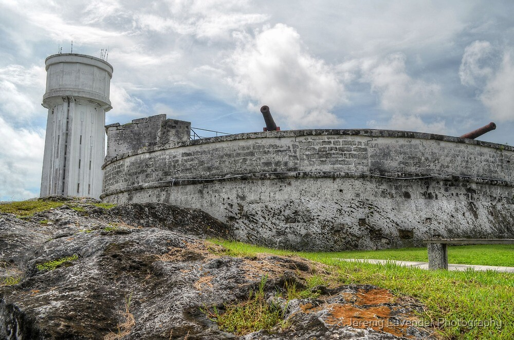 Historical Places of Nassau, The Bahamas: Fort Fincastle & The Water Tower by Jeremy Lavender Photography