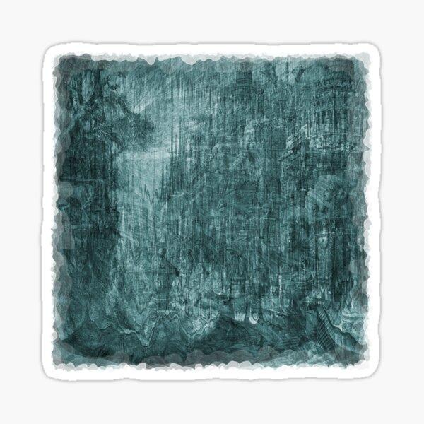 The Atlas of Dreams - Plate 35 (aqua) Sticker