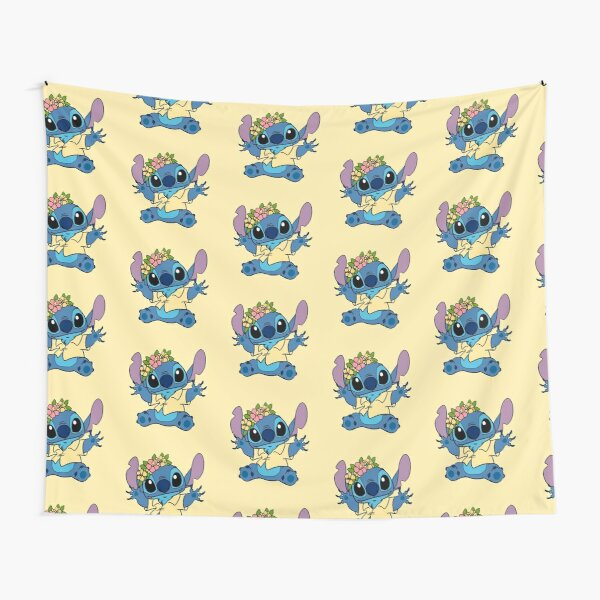 Baby stitch hawaiano Tela decorativa