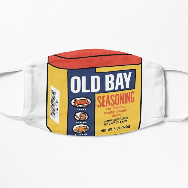Old Bay Flat Mask