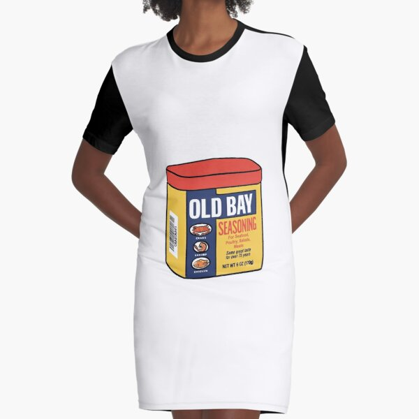 Old Bay Graphic T-Shirt Dress