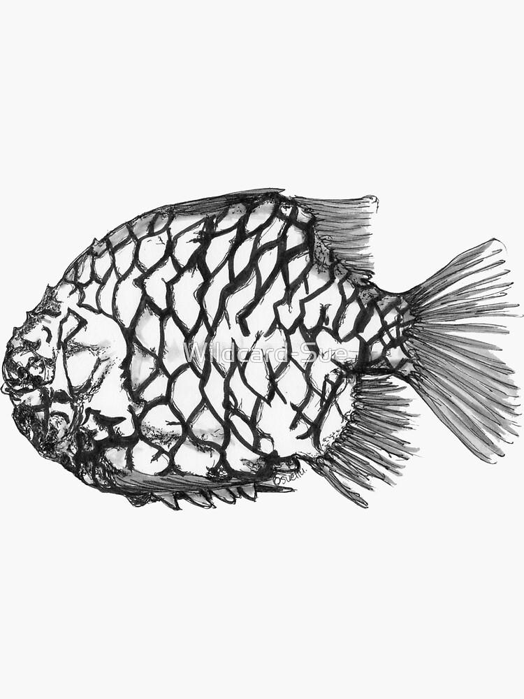 Bridget the Pineapple Fish by Wildcard-Sue