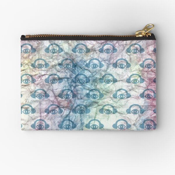 Water Color Geometry Zipper Pouch