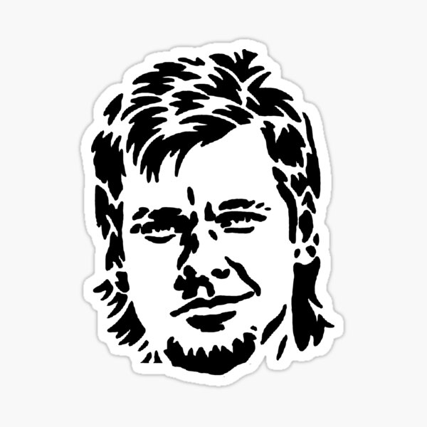 """Theo Von """"This Past Weekend"""" Podcast  Sticker"""