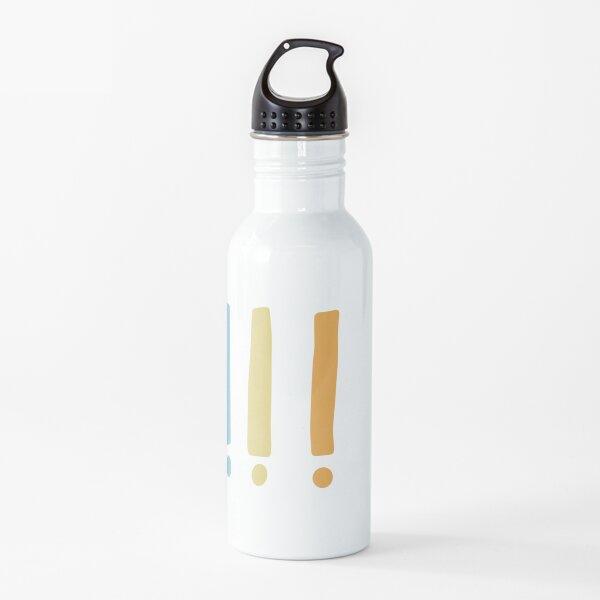 amarillo Botella de agua