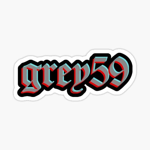 grey59 VHS Sticker