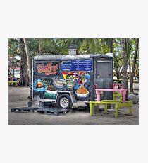 Shelly's snacks at Arawak Cay in Nassau, The Bahamas Photographic Print