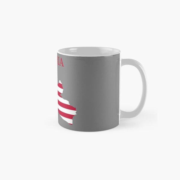 Liberia Map flag Classic Mug
