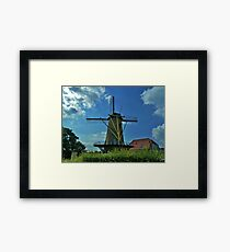 Windmill of Willemstad Framed Print